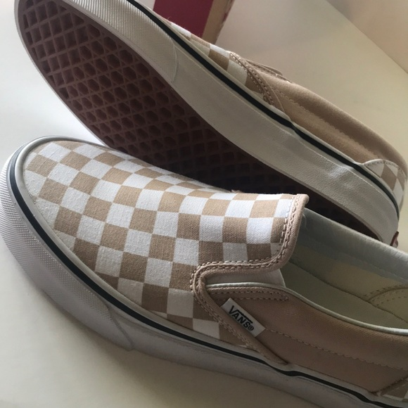c3496be42e2 Vans slip on frappe 7 5.5 NEW! Checkered white